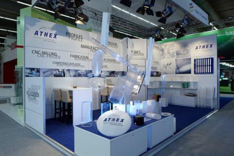 Hersteller Kunststoffverarbeiter, Messestand ATHEX