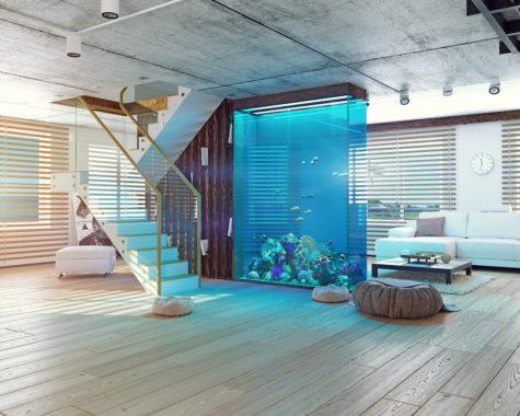 Aquarium Kunststoffkomponenten