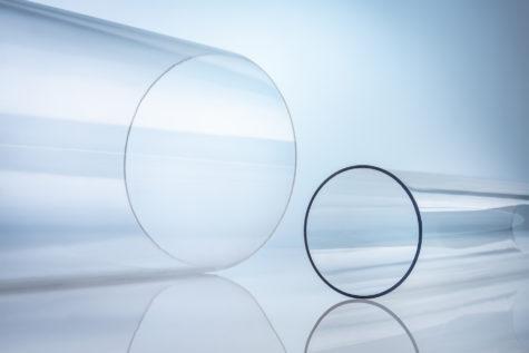 Kunststoffrohr PMMA transparent