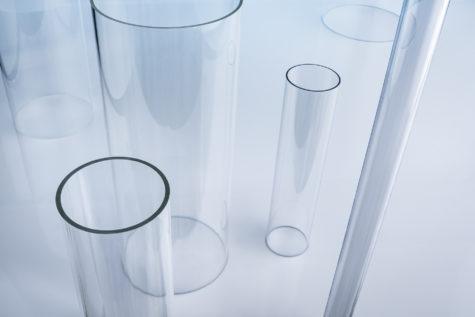 Kunststoffrohr PMMA Polycarbonat Durchmesser