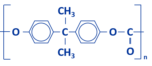 Molekuelkette Polycarbonat